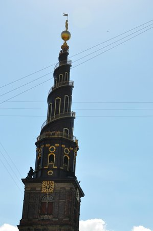 Erlöserkirche (Vor Frelsers Kirke): Купол