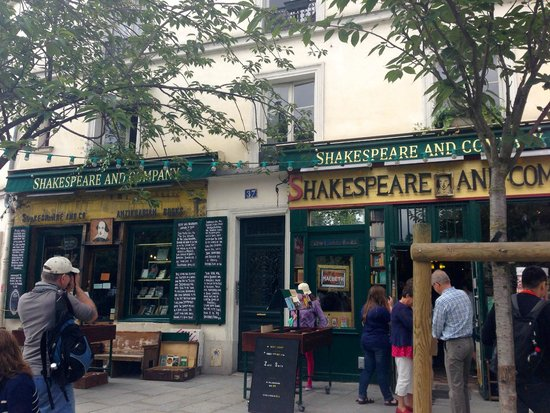 Librairie Shakespeare and Company : Front of Store