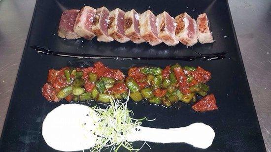 Fogón Y Candela: Taco de Atún a la plancha!!