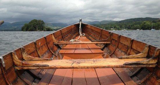 Linthwaite House: Rowboat