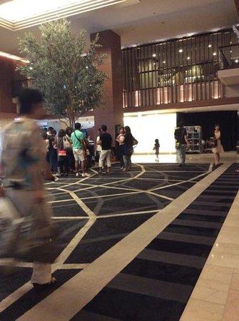 Hotel Nikko Osaka: hotel lobby