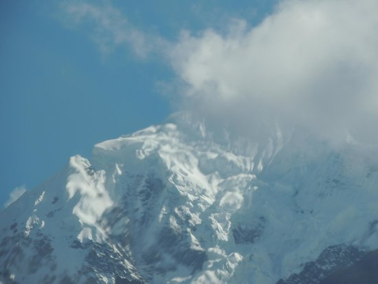 Camino Inca: La Veronica, montaña nevada!