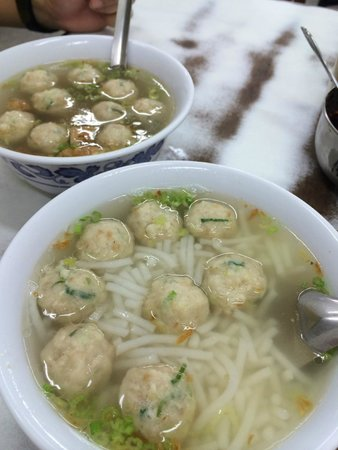 Lao Fu Fish Ball & Rice Noodle Soup