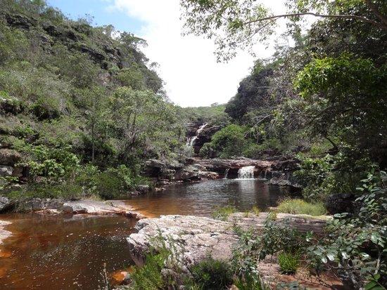 Mosquitos Waterfall: Antes de descer para a cachoeira do mosquito