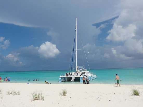Beaches Turks & Caicos Resort Villages & Spa : Kitty Kat Cruise Iguana Island