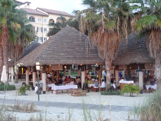 Beaches Turks and Caicos Resort Villages and Spa : Barefoot Restaurant  Get Your Feet Sandy