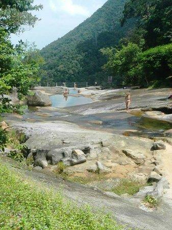 Telaga Tujuh Waterfalls: Telaga Tujuh Langkawi