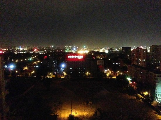 New World Beijing Hotel: View from roof top bar