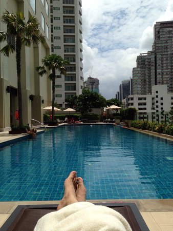 Sukhumvit Park, Bangkok - Marriott Executive Apartments: プール! Pool ! ^_^