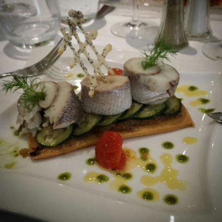 Le Derby's: Wonderful main fish dish
