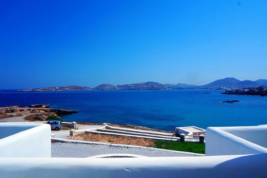 Paros Bay Hotel: sea view from our balcony