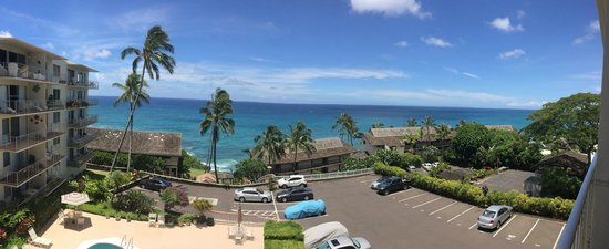 Sunset Kahili Condos: View from the lanai