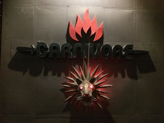 The Carnivore Restaurant: The Carnivore - main entrance