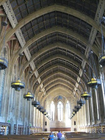 University of Washington: Suzzallo Library main reading room