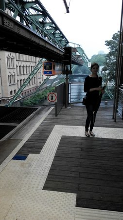 The Wuppertal Suspension Railway: Approaching Schwebebahn