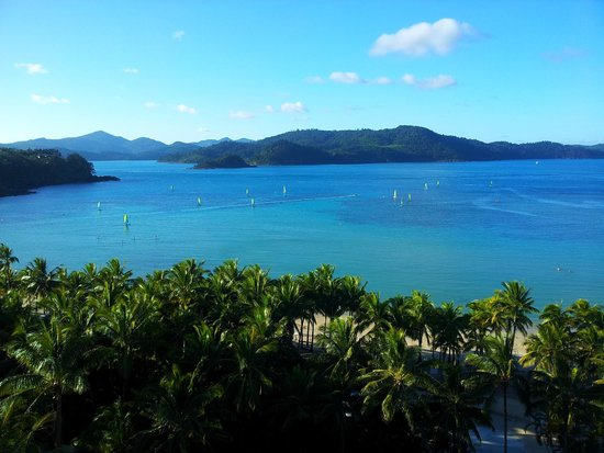Whitsunday Apartments Hamilton Island: View from room 901