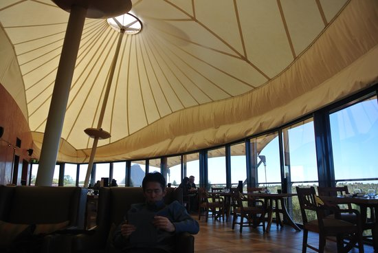 Longitude 131 : Dune reception and restaurant area