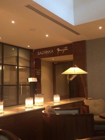 Hotel Okura Ámsterdam: Bonita recepción de este fantástico restaurante