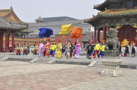 Shenyang Imperial Palace (Gu Gong): The King, Queen etc.