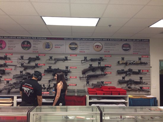 The Gun Store: So many guns