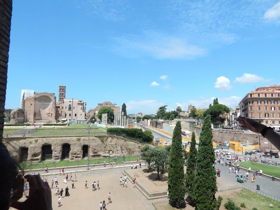 Colosseum: View from Colloseum