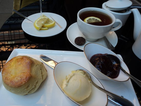 The Booking Office: Earl Grey and scones and jam