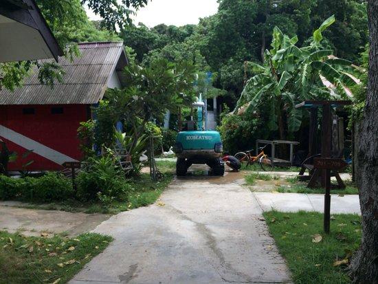 Paradise Resort Phi Phi : L'horreur des travaux