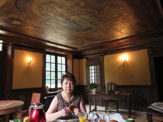 Chateau De Paradis : 朝食
