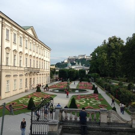 Mirabell Palace and Gardens: full view