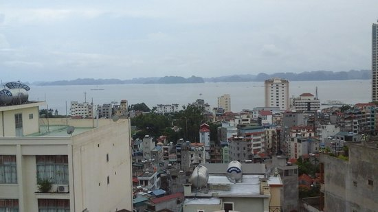 Asean Hai Ngoc Hotel: vue depuis la chambre (8e étage)