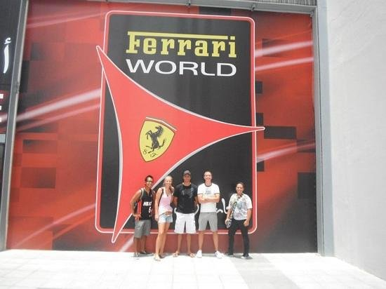 Ferrari World Abu Dhabi: day well spent