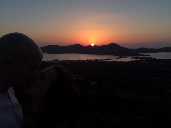Elounda Water Park Residence : Another perfect Sunrise in Elounda