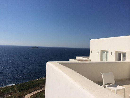 Archipelagos Resort Hotel : View from the balcony of a junior suite