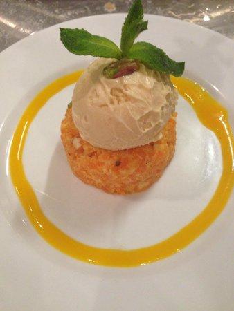 Tabla Authentic Indian Restaurant: Mango kulfi