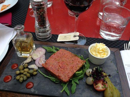 Klosterli Weincafe : Beef Tartar