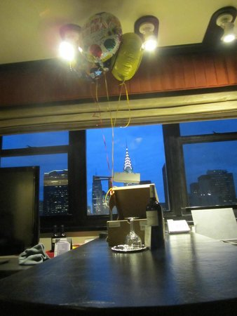 Dumont NYC–an Affinia hotel: Birthday suprise