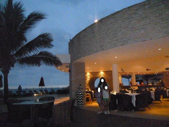 Royal Decameron Mompiche: Restaurant Acantilado (mariscos)