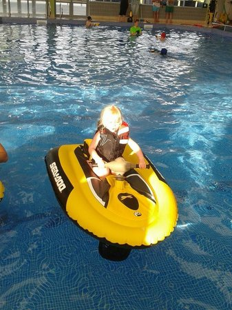 Golden Sands Holiday Park - Haven: Aqua gliders