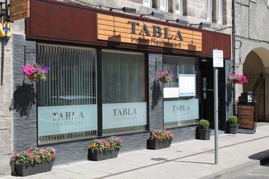 Tabla Authentic Indian Restaurant: Tabla New Front