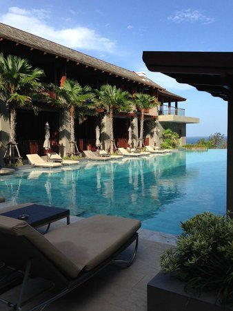 Avista Hideaway Phuket Patong, MGallery by Sofitel: Pool ourside our room