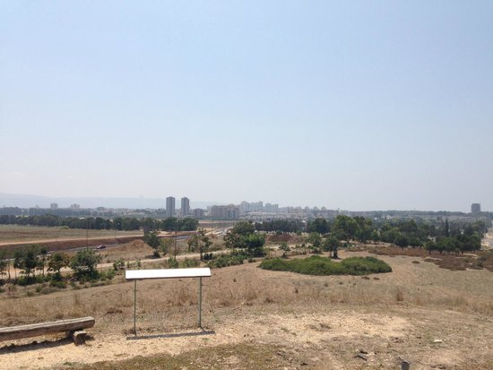 En Afek Nature Reserve: View from the hill