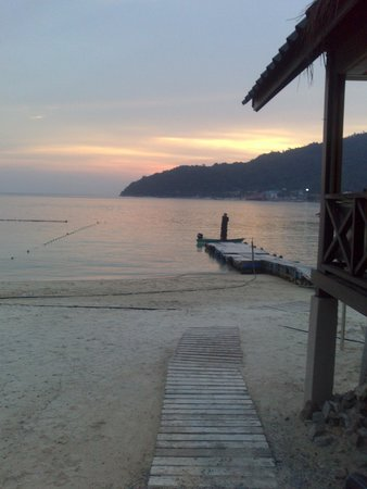 Perhentian Tuna Bay Island Resort: view from the restaurant