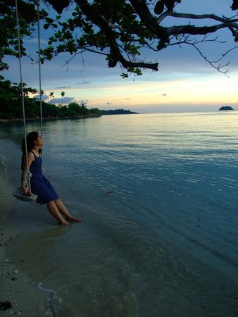The Chill Resort & Spa, Koh Chang: ริมชายหาด