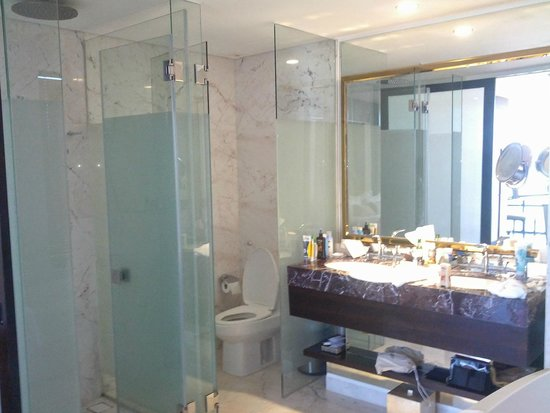 Holiday Beach Danang Hotel & Resort: Shower and toilet