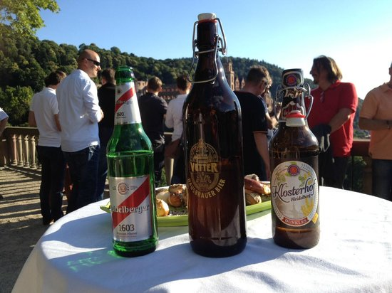 """Dossenheim, Alemanha: """"Seit 1603 hopfig dabei!"""" Kulinarische Bierführung durch den Heidelberger Schlossgarten"""