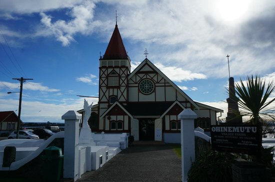 St. Faith's Anglican Church: front of church