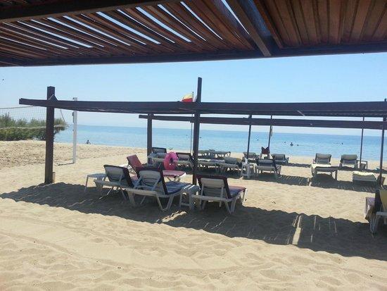 Grand Hotel Temizel: Temizel plajından bir görüntü