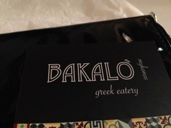 Bakalo : Name