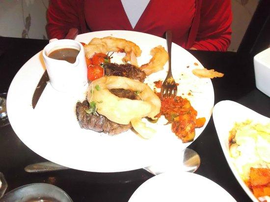 Fitzwilton Hotel: Dinner in Chez K restaurant, Firzwilton Hotel