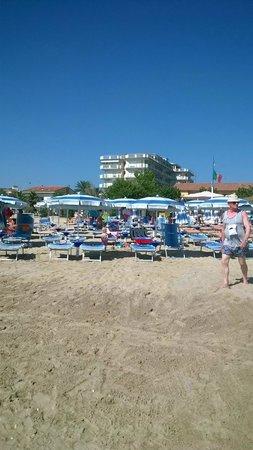 Hotel Petite Fleur: la spiaggia